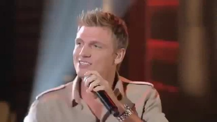 Nick Carter on Lopez Tonight Show - Just one kiss