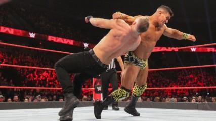 EC3 vs. Dean Ambrose: Raw, Feb. 11, 2019