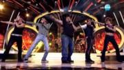 Ненчо, Геро, Мария, Малин Кръстев и Румен като Take That -