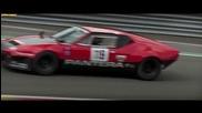 Detomaso Pantera Group 4 - Modena Trackdays 2013 - Backfire - Flyby
