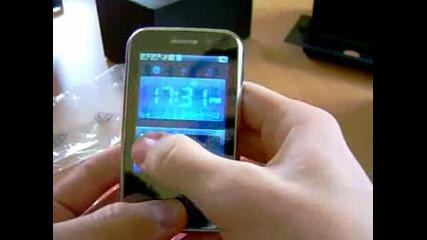 Sang Teng T8 2sim microsd Tv Fm mini iphone design