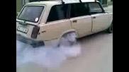 Burnout Mo6tna lada
