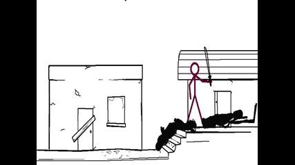 zombies vs humans (pivot)