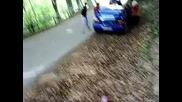 Boris Grigorov - Subaru Impreza - Rali Vida - Incident 2009.avi