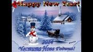 Честита Нова 2014 Година! (видео - картичка)