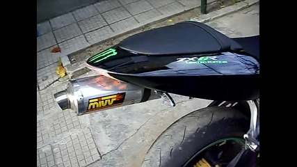Kawasaki zx6r 2006 sound