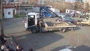 Екшън на наказателния паркинг в Бургас
