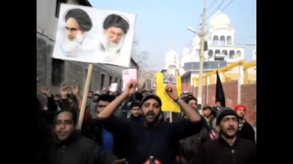 India: Kashmiri protesters condemn Saudi execution of Sheikh Nimr