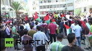 State of Palestine: Gazan students rally in solidarity with West Bank & E. Jerusalem