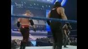 Двоен Надробен Камък На Undertaker & Kane