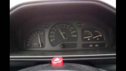 Ford Fiesta 1.8 16v Ускорение 0/100