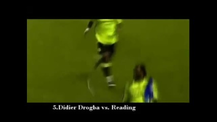 Cristiano Ronaldo vs Didier Drogba - Youtube