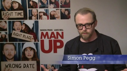Simon Pegg Talks About How To 'Man Up'