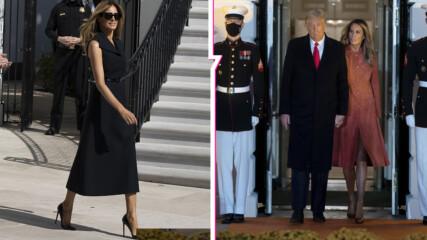 Фалшивата Мелания: Има ли първата дама на САЩ двойничка? Нови снимки объркаха мрежата