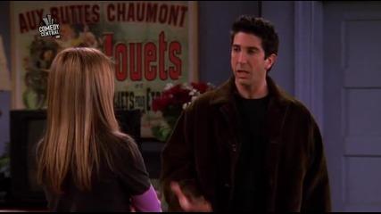Friends / Приятели - Сезон 6 Епизод 14 - Bg Audio - | Част 2/2 |