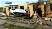 13 са жертвите на торнадото в Мексико