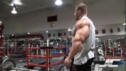 Тренировка за бицепс