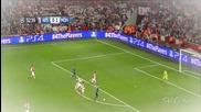 Арсенал 1 : 3 Монако гол на Бербатов