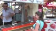 Много лудо продаване на сладолед