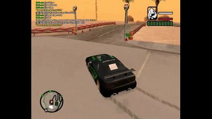 my first drift in gta sa