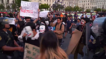 Peru: Students demand free public transport