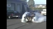 turbo Crx burnout