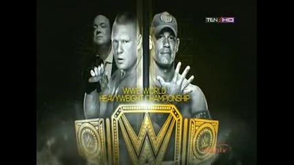 Джон Сина срещу Брок Леснар на Нощта На Шампионите 2014 - Match Card !