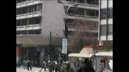 Бунт На Анти - Глобалисти В Атина - 2003г