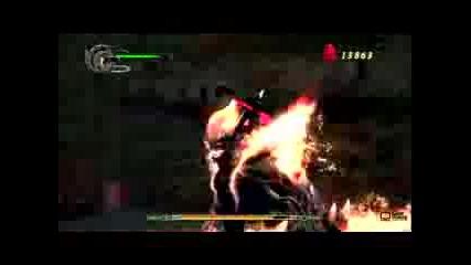 Devil May Cry 4 Berial Boss Battle