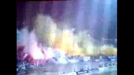 Димките на Левски на мача с Ц*ка 26.02.2011