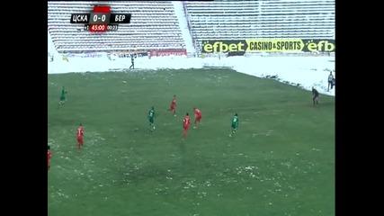 ЦСКА - Берое 0:1