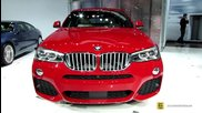 2015 Bmw X4 xdrive 35i - Exterior and Interior Walkaround - Debut at 2014 New York Auto Show