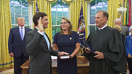 USA: Mark Esper sworn-in as Trump's Defence Secretary