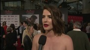 Avengers: Age Of Ultron World Premiere: Cobie Smulders