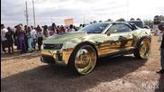 Нереален тунинг на Chevrolet Camaro - Златен звяр
