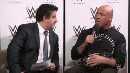 Interview with Kurt Angle in Paris, Part 1