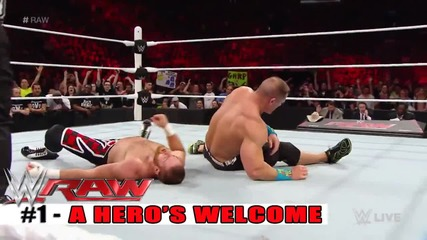 Top 10 Wwe Raw moments - May 4, 2015