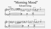 Edvard Grieg - Morning Mood - Piano sheet music (by Tatiana Hyusein)