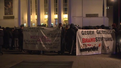 Germany: Duisberg's PEGIDA branch rally for one year anniversary