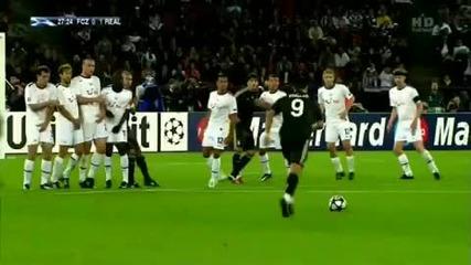 Cristiano Ronaldo Hd Real Madrid Freestyle