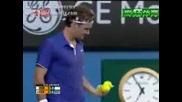 Australian Open 2009 : Федерер - Бердих | 5ти Сет Част 4/4