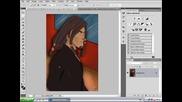 Photoshop Ефект - Как да си направим картинка да бъде нарисувана с молив