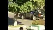 Death Car. Lada 2109 Moving After Crush! 2