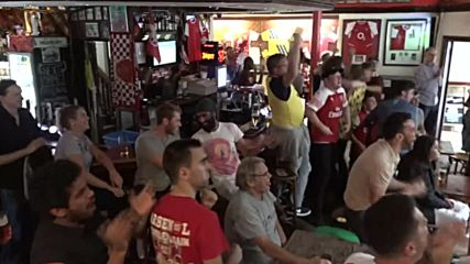 UK: Arsenal fans watch side lose 3-2 to Chelsea