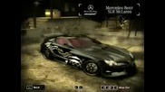 Nfs Most Wanted Cars Colection