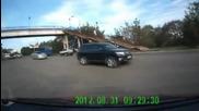 Голям късмет ! На косъм от смъртта при пътен инцидент !