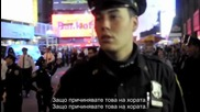1 Маринец срещу 30 ченгета - Окупацията Уол Стрийт oct 2011