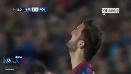 Barcelona vs Мilan -2013
