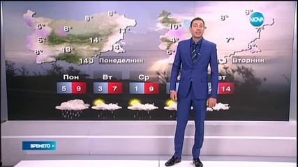 Прогноза за времето (06.04.2015 - обедна)