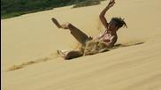 Скейтбординг на пясък- забавление в Нова Зеландия